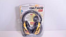 AO Safety Worktunes with Digital Tuning AM FM Radio Headphon