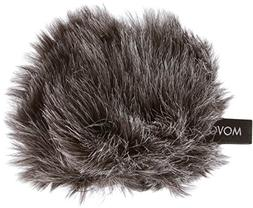Movo WS-G1 Furry Outdoor Microphone Windscreen Muff for Smal