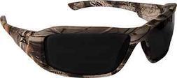 Edge Eyewear XB116CF Brazeau Smoke Lens, Forest Camo