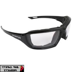 EXTREMIS XT1-11 FOAM LINED SAFETY GLASSES CLEAR ANTI-FOG LEN
