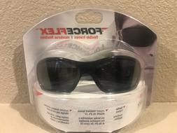 3M Z87+U6L3 ForceFlex safety glasses. Tekk Protection. Impac