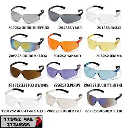 PYRAMEX ZTEK SAFETY GLASSES ANSI Z87.1+ COMPLIANT CHOOSE YOU