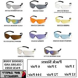 PYRAMEX ZTEK SAFETY GLASSES ANSI Z87+ COMPLIANT VARIETY PACK